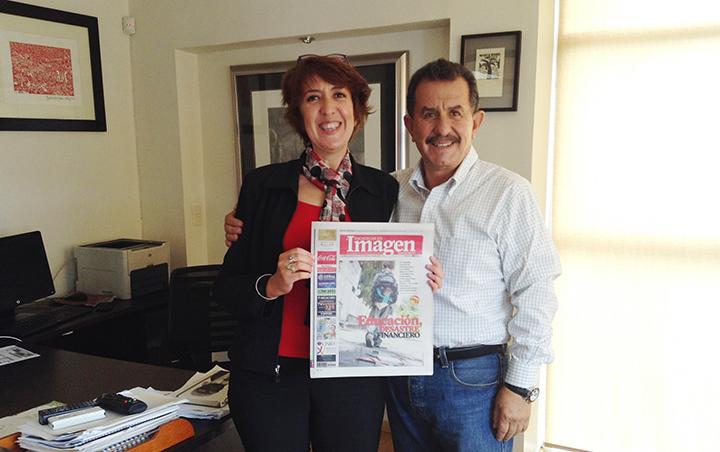 """Launch of Newspaper """"Imagen de Zacatecas"""""""
