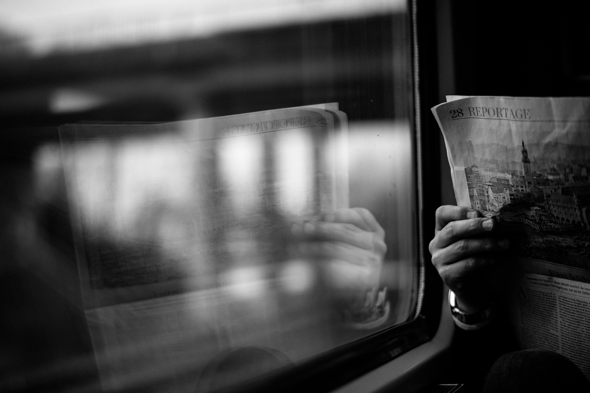 train-newspaper